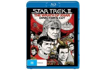 Star Trek 2 The Wrath of Khan Directors Cut Blu-ray Region B