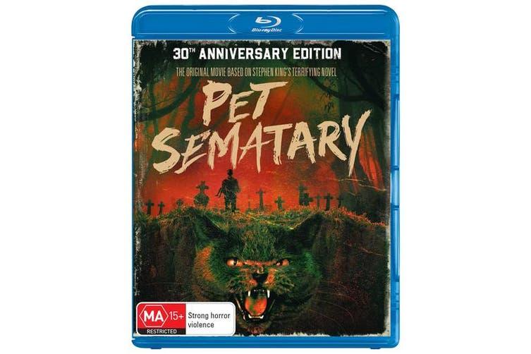 Pet Sematary 30th Anniversary Edition Blu-ray Region B