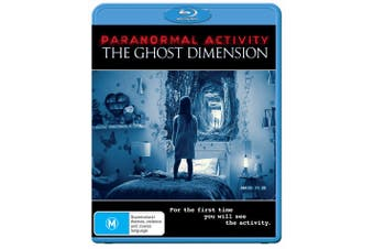 Paranormal Activity The Ghost Dimension Blu-ray Region B