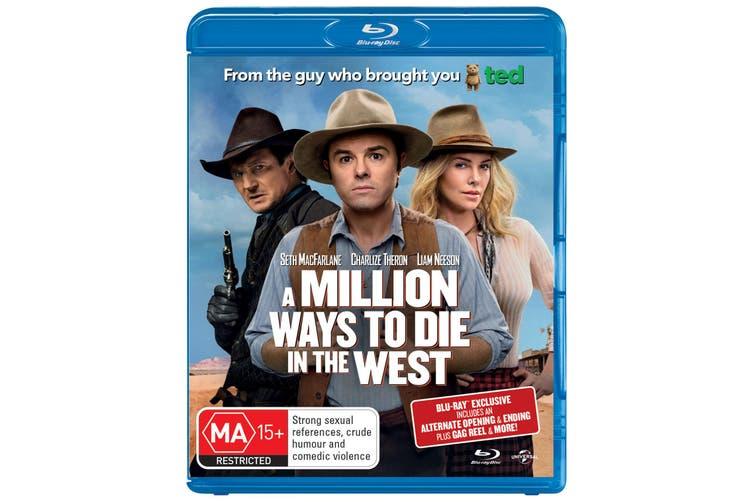 A Million Ways to Die in the West Blu-ray Region B