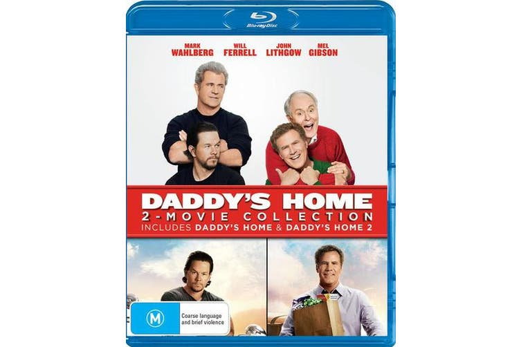 Daddys Home 2 Movie Collection Blu-ray Region B