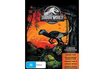 Jurassic World 5 Movie Collection Box Set Blu-ray Region B
