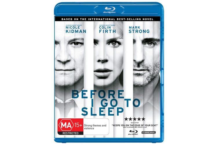 Before I Go to Sleep Blu-ray Region B