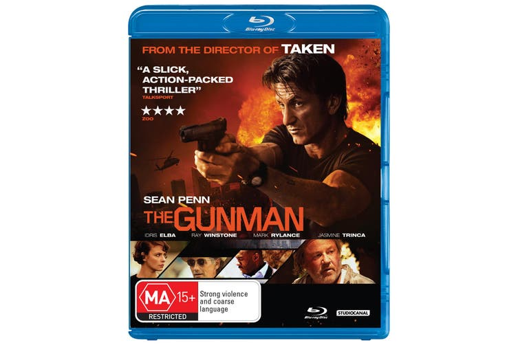 The Gunman Blu-ray Region B