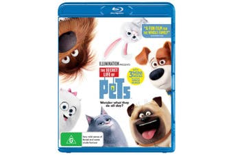 The Secret Life of Pets Blu-ray Region B