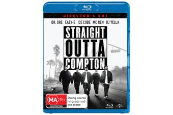 Straight Outta Compton Directors Cut Blu-ray Region B