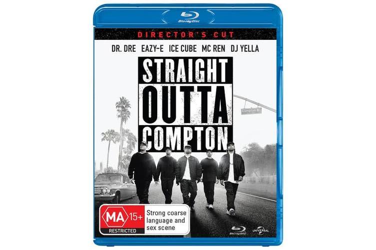 Straight Outta Compton Directors Cut Blu-ray Region B
