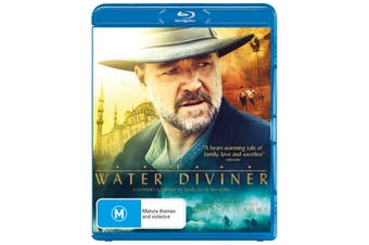 The Water Diviner Blu-ray Region B