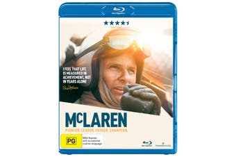 McLaren Blu-ray Region B
