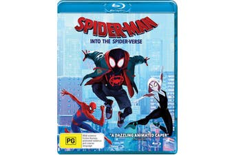 Spider Man Into the Spider verse Blu-ray Region B