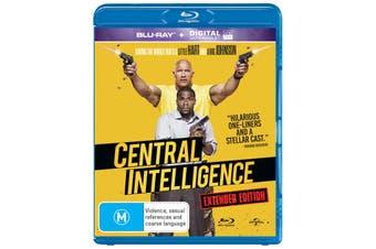 Central Intelligence Blu-ray Region B