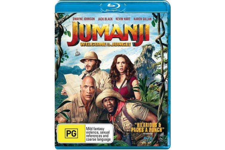 Jumanji Welcome to the Jungle Blu-ray Region B