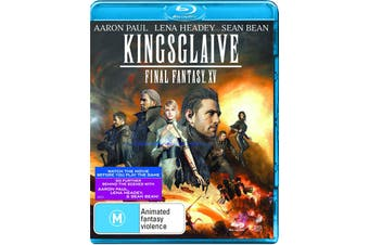 Kingsglaive Final Fantasy XV Blu-ray Region B