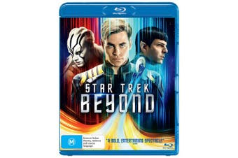 Star Trek Beyond Blu-ray Region B