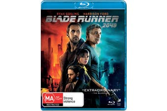 Blade Runner 2049 Blu-ray Region B