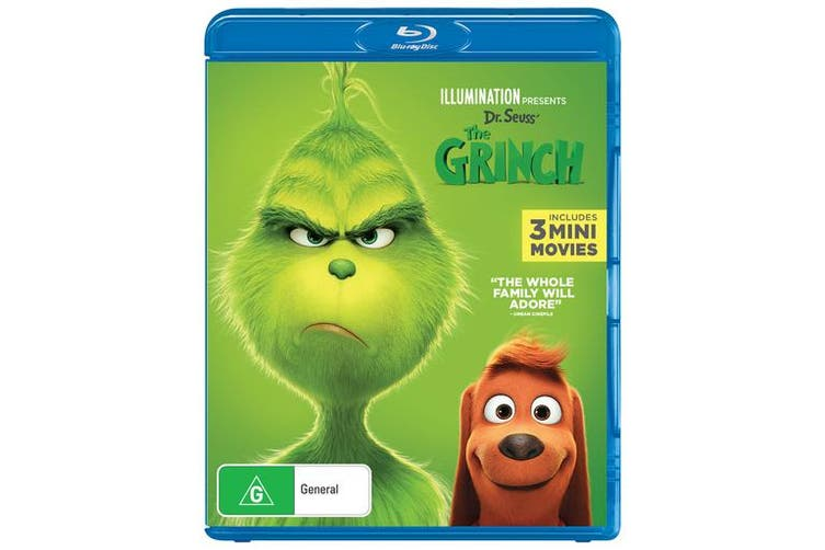 The Grinch 2019 Release with Digital Download Blu-ray Region B