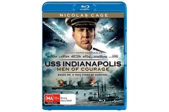 USS Indianapolis Men of Courage Blu-ray Region B