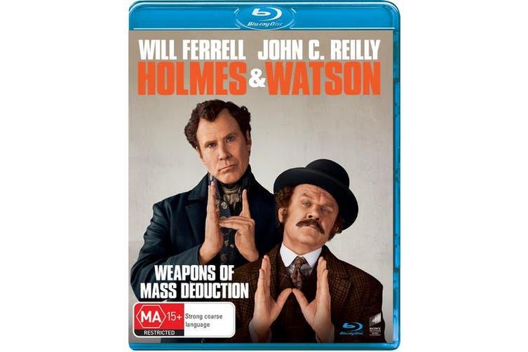 Holmes and Watson Blu-ray Region B