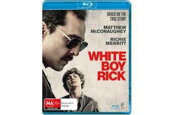 White Boy Rick Blu-ray Region B