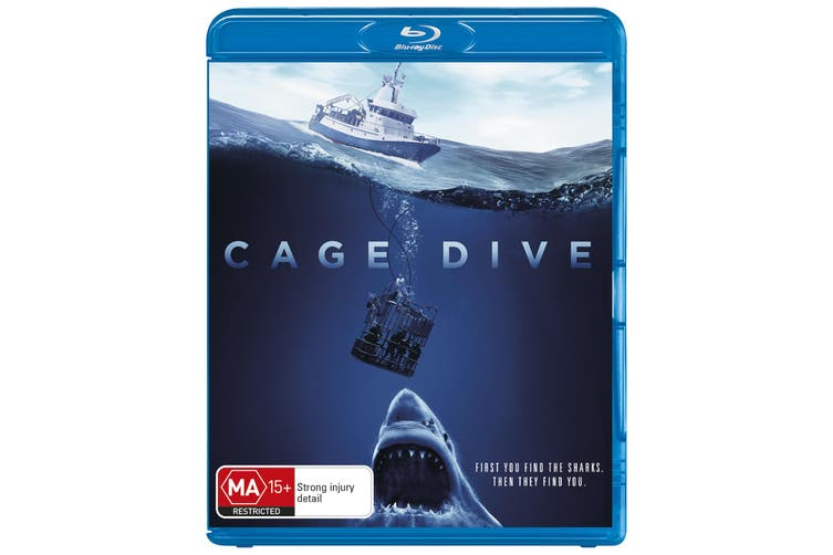 Cage Dive Blu-ray Region B