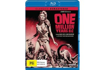 One Million Years BC Blu-ray Region B