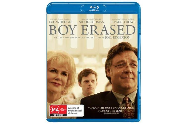 Boy Erased Blu-ray Region B