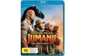Jumanji The Next Level Blu-ray Region B
