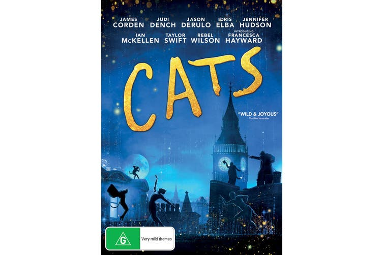 Cats Blu-ray Region B