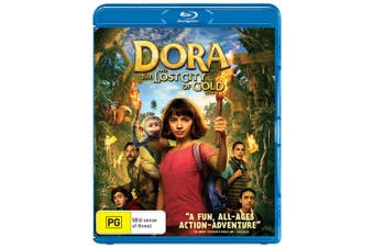 Dora and the Lost City of Gold Blu-ray Region B