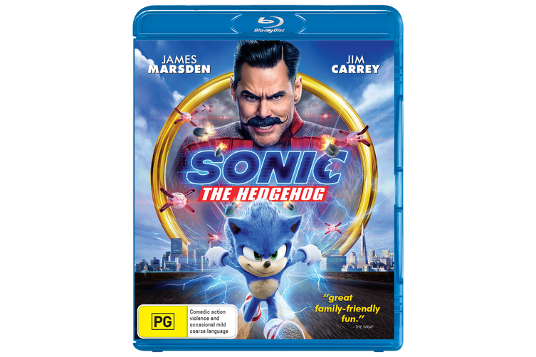Sonic the Hedgehog Blu-ray Region B
