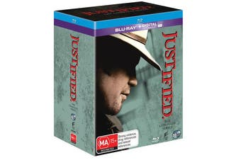 Justified The Complete Series Blu-ray Region B