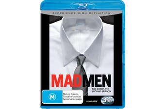 Mad Men Season 2 Blu-ray Region B