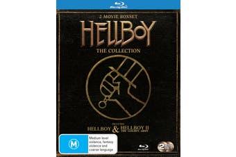 Hellboy / Hellboy 2 The Golden Army Blu-ray Region B