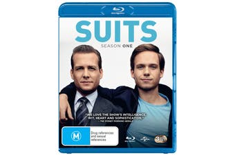 Suits Season 1 Blu-ray Region B