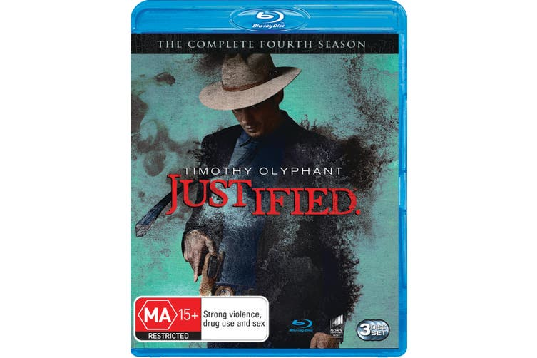 Justified The Complete Fourth Season 4 Blu-ray Region B