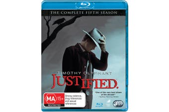 Justified The Complete Fifth Season 5 Blu-ray Region B