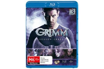 Grimm Season 3 Blu-ray Region B