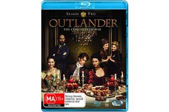 Outlander Season 2 Blu-ray Region B