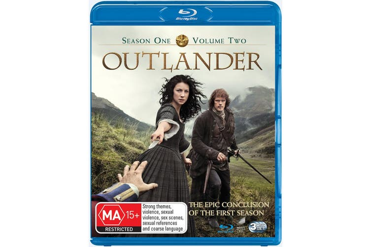 Outlander Season 1 Volume Two Blu-ray Region B