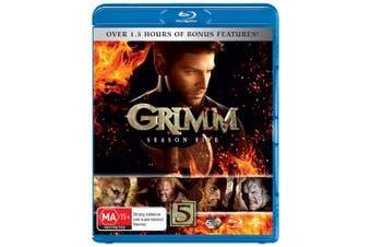 Grimm Season 5 Blu-ray Region B