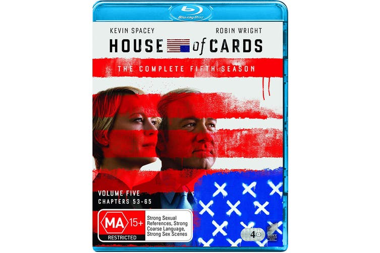 House of Cards The Complete Fifth Season 5 Blu-ray Region B