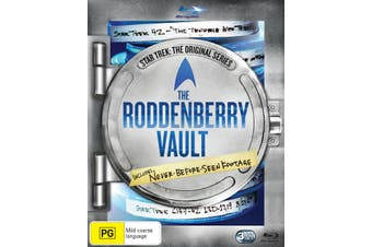 Star Trek the Original Series The Roddenberry Vault Blu-ray Region B