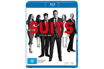 Suits Season 6 Part Two Blu-ray Region B