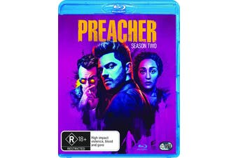 Preacher Season 2 Blu-ray Region B