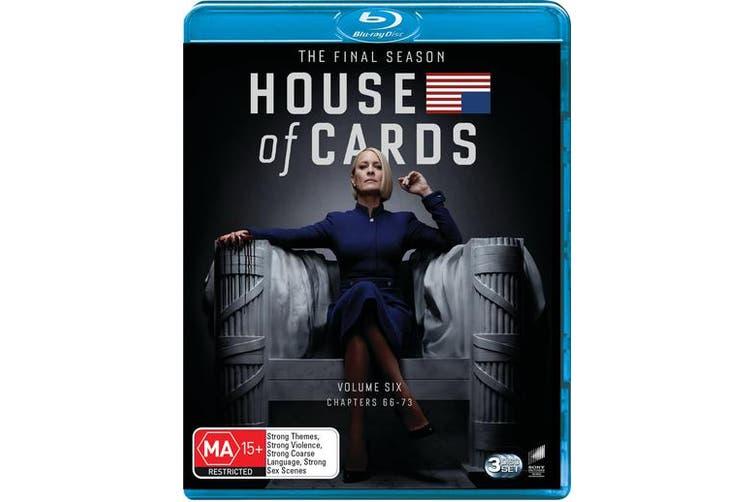 House of Cards The Complete Final Season Box Set Blu-ray Region B