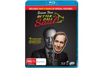 Better Call Saul Season 4 Box Set Blu-ray Region B