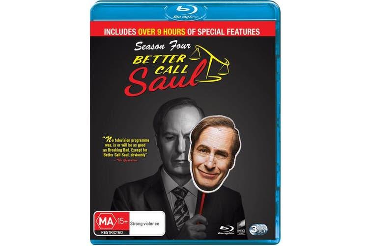 Better Call Saul Season 4 Box Set Blu-ray Region B