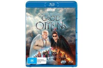Good Omens Blu-ray Region B
