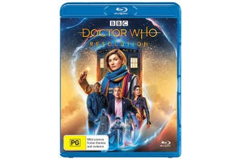 Doctor Who Resolution Blu-ray Region B