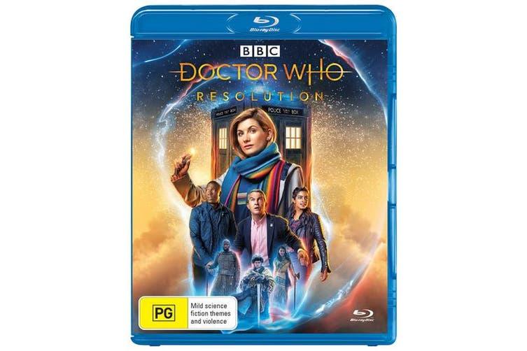 Doctor Who Resolution Blu-ray Region B